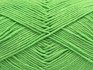 Fiber Content 50% Acrylic, 50% Cotton, Light Green, Brand Ice Yarns, Yarn Thickness 2 Fine  Sport, Baby, fnt2-66897