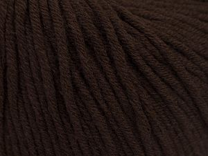 Fiber Content 50% Acrylic, 50% Cotton, Brand Ice Yarns, Brown, Yarn Thickness 3 Light  DK, Light, Worsted, fnt2-66901