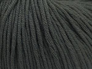 Fiber Content 50% Acrylic, 50% Cotton, Brand Ice Yarns, Grey, Yarn Thickness 3 Light  DK, Light, Worsted, fnt2-66902