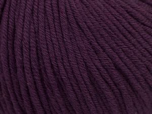 Fiber Content 50% Acrylic, 50% Cotton, Purple, Brand Ice Yarns, Yarn Thickness 3 Light  DK, Light, Worsted, fnt2-66908