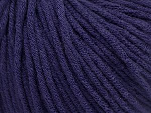 Fiber Content 50% Cotton, 50% Acrylic, Lavender, Brand Ice Yarns, Yarn Thickness 3 Light  DK, Light, Worsted, fnt2-66909