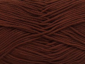 İçerik 100% Mercerised Giza Cotton, Brand Ice Yarns, Brown, Yarn Thickness 2 Fine  Sport, Baby, fnt2-66918