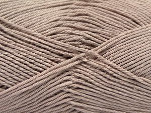 İçerik 100% Mercerised Giza Cotton, Brand Ice Yarns, Dark Beige, Yarn Thickness 2 Fine  Sport, Baby, fnt2-66922