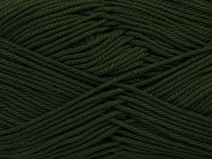 İçerik 100% Mercerised Giza Cotton, Khaki, Brand Ice Yarns, Yarn Thickness 2 Fine  Sport, Baby, fnt2-66927