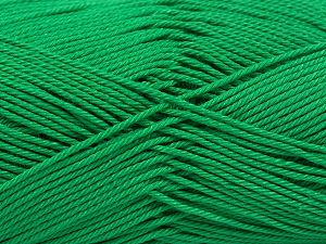 İçerik 100% Mercerised Giza Cotton, Brand Ice Yarns, Green, Yarn Thickness 2 Fine  Sport, Baby, fnt2-66929