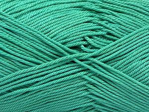 İçerik 100% Mercerised Giza Cotton, Light Green, Brand Ice Yarns, Yarn Thickness 2 Fine  Sport, Baby, fnt2-66930