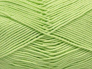 Fiber Content 100% Mercerised Giza Cotton, Light Green, Brand Ice Yarns, Yarn Thickness 2 Fine  Sport, Baby, fnt2-66932