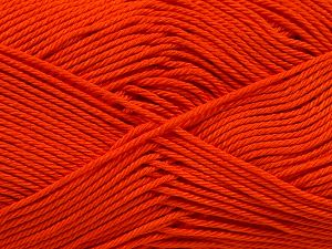 İçerik 100% Mercerised Giza Cotton, Orange, Brand Ice Yarns, Yarn Thickness 2 Fine  Sport, Baby, fnt2-66937