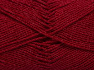 İçerik 100% Mercerised Giza Cotton, Brand Ice Yarns, Dark Fuchsia, Yarn Thickness 2 Fine  Sport, Baby, fnt2-66939