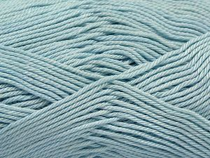 İçerik 100% Mercerised Giza Cotton, Light Turquoise, Brand Ice Yarns, Yarn Thickness 2 Fine  Sport, Baby, fnt2-66946