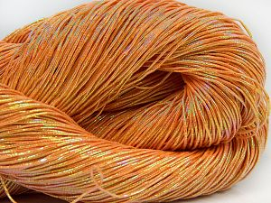Please note that this is a hand-dyed yarn. Colors in different lots may vary because of the charateristics of the yarn. Also see the package photos for the colorway in full; as skein photos may not show all colors. Fiber Content 60% Metallic Lurex, 40% Cotton, Orange, Brand Ice Yarns, Yarn Thickness 2 Fine  Sport, Baby, fnt2-66978
