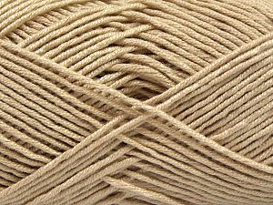 Fiber Content 50% Bamboo, 50% Acrylic, Brand Ice Yarns, Beige, Yarn Thickness 2 Fine  Sport, Baby, fnt2-66982