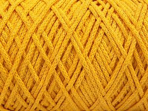 Please be advised that yarn iade made of recycled cotton, and dye lot differences occur. Fiber Content 100% Cotton, Brand Ice Yarns, Dark Yellow, fnt2-66999