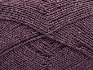 Fiber Content 50% Cotton, 50% Acrylic, Light Lavender, Brand Ice Yarns, Yarn Thickness 2 Fine  Sport, Baby, fnt2-67018
