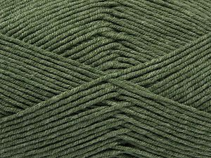 Fiber Content 50% Acrylic, 50% Cotton, Light Hunter Green, Brand Ice Yarns, Yarn Thickness 2 Fine  Sport, Baby, fnt2-67019