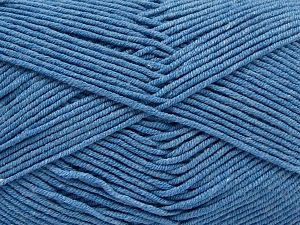 Fiber Content 50% Acrylic, 50% Cotton, Light Jeans Blue, Brand Ice Yarns, Yarn Thickness 2 Fine  Sport, Baby, fnt2-67021