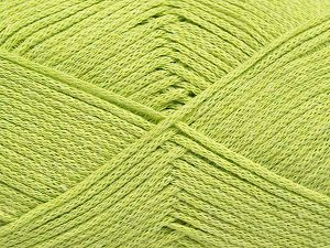 Fiber Content 100% Cotton, Light Green, Brand Ice Yarns, Yarn Thickness 2 Fine  Sport, Baby, fnt2-67025