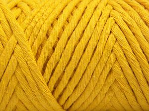 Fiber Content 100% Cotton, Yellow, Brand Ice Yarns, fnt2-67034