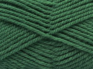 Bulky  Fiber Content 100% Acrylic, Brand Ice Yarns, Hunter Green, Yarn Thickness 5 Bulky  Chunky, Craft, Rug, fnt2-67045