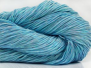 Please note that this is a hand-dyed yarn. Colors in different lots may vary because of the charateristics of the yarn. Also see the package photos for the colorway in full; as skein photos may not show all colors. Fiber Content 60% Metallic Lurex, 40% Cotton, Brand Ice Yarns, Blue, fnt2-67049