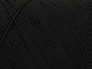 Fiber Content 70% Polyester, 30% Cotton, Brand Ice Yarns, Black, Yarn Thickness 3 Light  DK, Light, Worsted, fnt2-67064