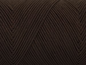 Fiber Content 70% Polyester, 30% Cotton, Brand Ice Yarns, Brown, fnt2-67068