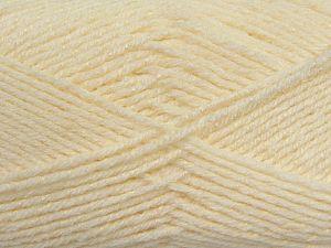 Fiber Content 76% Acrylic, 14% Cotton, 10% Bamboo, Brand Ice Yarns, Ecru, Cream, Yarn Thickness 2 Fine  Sport, Baby, fnt2-67077