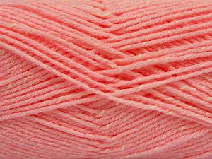 Fiber Content 76% Acrylic, 14% Cotton, 10% Bamboo, Pink, Brand Ice Yarns, Cream, Yarn Thickness 2 Fine  Sport, Baby, fnt2-67087
