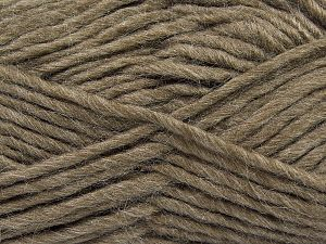 Fiber Content 85% Acrylic, 5% Mohair, 10% Wool, Mink, Brand Ice Yarns, Yarn Thickness 5 Bulky  Chunky, Craft, Rug, fnt2-67098