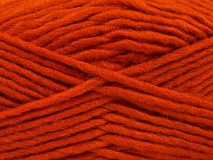 Fiber Content 85% Acrylic, 5% Mohair, 10% Wool, Orange, Brand Ice Yarns, Yarn Thickness 5 Bulky  Chunky, Craft, Rug, fnt2-67107