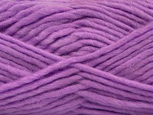 Fiber Content 85% Acrylic, 5% Mohair, 10% Wool, Lilac, Brand Ice Yarns, Yarn Thickness 5 Bulky  Chunky, Craft, Rug, fnt2-67115