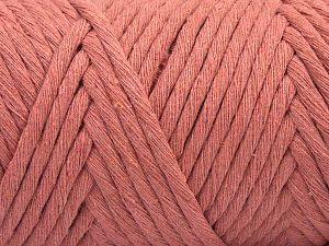 Fiber Content 100% Cotton, Rose Pink, Brand Ice Yarns, Yarn Thickness 6 SuperBulky  Bulky, Roving, fnt2-67121
