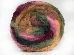Fiber Content 95% Premium Acrylic, 5% Mohair, Pink, Brand Ice Yarns, Green Shades, Cream Shades, Burgundy, Yarn Thickness 5 Bulky  Chunky, Craft, Rug, fnt2-67125