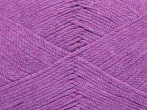 Fiber Content 100% Cotton, Brand Ice Yarns, Dark Lilac, Yarn Thickness 2 Fine Sport, Baby, fnt2-67141