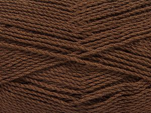 Fiber Content 100% Premium Acrylic, Brand Ice Yarns, Brown, Yarn Thickness 2 Fine  Sport, Baby, fnt2-67204