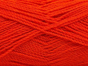 Fiber Content 100% Premium Acrylic, Orange, Brand Ice Yarns, Yarn Thickness 2 Fine  Sport, Baby, fnt2-67211