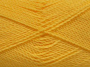 Fiber Content 100% Premium Acrylic, Light Yellow, Brand Ice Yarns, Yarn Thickness 2 Fine  Sport, Baby, fnt2-67213