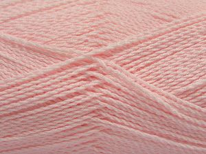 Fiber Content 100% Premium Acrylic, Brand Ice Yarns, Baby Pink, Yarn Thickness 2 Fine  Sport, Baby, fnt2-67226