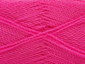Fiber Content 100% Premium Acrylic, Brand Ice Yarns, Candy Pink, Yarn Thickness 2 Fine  Sport, Baby, fnt2-67230