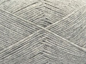 Fiber Content 100% Cotton, Light Grey, Brand Ice Yarns, Yarn Thickness 2 Fine  Sport, Baby, fnt2-67246