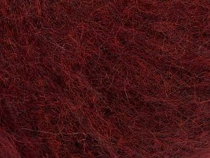 Fiber Content 41% SuperKid Mohair, 23% Polyamide, 23% Viscose, 2% Elastan, 11% Merino Wool, Brand Ice Yarns, Dark Burgundy, Yarn Thickness 1 SuperFine  Sock, Fingering, Baby, fnt2-67273