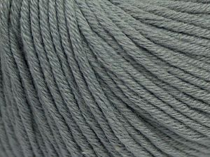 Fiber Content 50% Acrylic, 50% Cotton, Light Grey, Brand Ice Yarns, Yarn Thickness 3 Light  DK, Light, Worsted, fnt2-67286
