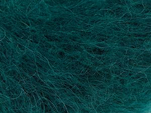 Fiber Content 41% Alpaca Superfine, 41% Kid Mohair, 2% Elastan, 16% Nylon, Brand Ice Yarns, Emerald Green, Yarn Thickness 3 Light  DK, Light, Worsted, fnt2-67292