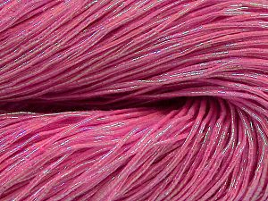 Please note that this is a hand-dyed yarn. Colors in different lots may vary because of the charateristics of the yarn. Also see the package photos for the colorway in full; as skein photos may not show all colors. Fiber Content 60% Metallic Lurex, 40% Cotton, Brand Ice Yarns, Fuchsia, fnt2-67300