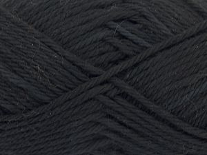 Fiber Content 100% Cotton, Brand Ice Yarns, Black, Yarn Thickness 4 Medium  Worsted, Afghan, Aran, fnt2-67326