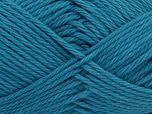Fiber Content 100% Cotton, Brand Ice Yarns, Dark Teal, Yarn Thickness 4 Medium  Worsted, Afghan, Aran, fnt2-67333