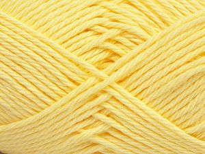 Fiber Content 100% Cotton, Yellow, Brand Ice Yarns, Yarn Thickness 4 Medium  Worsted, Afghan, Aran, fnt2-67336