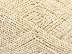 Fiber Content 67% Cotton, 33% Polyamide, Brand Ice Yarns, Ecru, Yarn Thickness 2 Fine  Sport, Baby, fnt2-67354