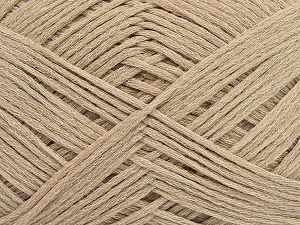 Fiber Content 67% Cotton, 33% Polyamide, Brand Ice Yarns, Beige, Yarn Thickness 2 Fine  Sport, Baby, fnt2-67355