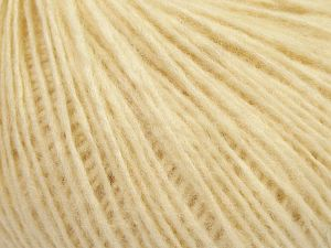 Fiber Content 66% Merino Wool, 34% Organic Cotton, Brand Ice Yarns, Cream, Yarn Thickness 3 Light DK, Light, Worsted, fnt2-67382